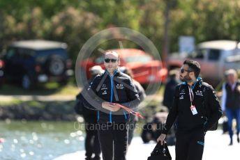 World © Octane Photographic Ltd. Formula 1 – Canadian GP. Paddock. ROKiT Williams Racing FW42 – Robert Kubica. Circuit de Gilles Villeneuve, Montreal, Canada. Thursday 6th June 2019.