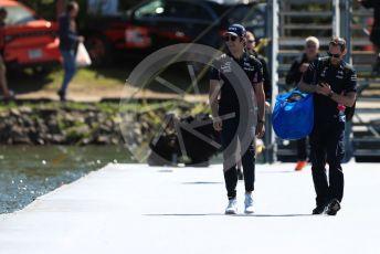 World © Octane Photographic Ltd. Formula 1 – Canadian GP. Paddock. SportPesa Racing Point RP19 – Lance Stroll. Circuit de Gilles Villeneuve, Montreal, Canada. Thursday 6th June 2019.