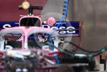 World © Octane Photographic Ltd. Formula 1 – Canadian GP. Pitlane. SportPesa Racing Point RP19 . Circuit de Gilles Villeneuve, Montreal, Canada. Thursday 6th June 2019.