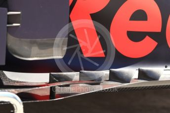 World © Octane Photographic Ltd. Formula 1 – Canadian GP. Scrutineering. Aston Martin Red Bull Racing RB15. Circuit de Gilles Villeneuve, Montreal, Canada. Thursday 6th June 2019.