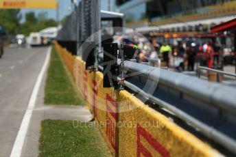 World © Octane Photographic Ltd. Formula 1 – Canadian GP. Pitlane. Rough pitwall. Circuit de Gilles Villeneuve, Montreal, Canada. Thursday 6th June 2019.