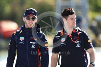 World © Octane Photographic Ltd. Formula 1 – Canadian GP. Paddock. Aston Martin Red Bull Racing RB15 – Pierre Gasly. Circuit de Gilles Villeneuve, Montreal, Canada. Saturday 8th June 2019.