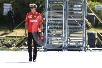 World © Octane Photographic Ltd. Formula 1 - Canadian GP. Paddock. Brendon Hartley – Scuderia Ferrari test and simulator driver. Circuit de Gilles Villeneuve, Montreal, Canada. Saturday 8th June 2019.