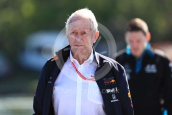 World © Octane Photographic Ltd. Formula 1 - Canadian GP. Paddock. Helmut Marko - advisor to the Red Bull GmbH Formula One Teams and head of Red Bull's driver development program. Circuit de Gilles Villeneuve, Montreal, Canada. Sunday 9th June 2019.