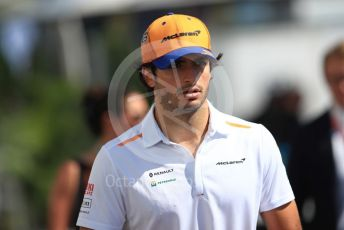 World © Octane Photographic Ltd. Formula 1 – Canadian GP. Paddock. McLaren MCL34 – Carlos Sainz. Circuit de Gilles Villeneuve, Montreal, Canada. Sunday 9th June 2019.