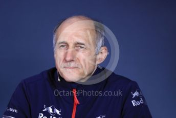 World © Octane Photographic Ltd. Formula 1 - Canadian GP – Friday FIA Team Press Conference. Franz Tost – Team Principal of Scuderia Toro Rosso. Circuit de Gilles Villeneuve, Montreal, Canada. Friday 7th June 2019.