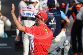 World © Octane Photographic Ltd. Formula 1 – Abu Dhabi GP - Class of 2018. Scuderia Ferrari SF71-H – Sebastian Vettel. Yas Marina Circuit, Abu Dhabi. Sunday 25th November 2018.