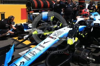 World © Octane Photographic Ltd. Formula 1 – French GP. Grid. ROKiT Williams Racing FW42 – Robert Kubica. Paul Ricard Circuit, La Castellet, France. Sunday 23rd June 2019.