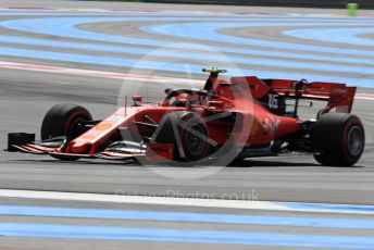 World © Octane Photographic Ltd. Formula 1 – French GP. Practice 1. Scuderia Ferrari SF90 – Charles Leclerc. Paul Ricard Circuit, La Castellet, France. Friday 21st June 2019.