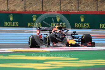 World © Octane Photographic Ltd. Formula 1 – French GP. Practice 1. Aston Martin Red Bull Racing RB15 – Max Verstappen. Paul Ricard Circuit, La Castellet, France. Friday 21st June 2019.