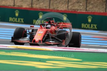 World © Octane Photographic Ltd. Formula 1 – French GP. Practice 1. Scuderia Ferrari SF90 – Sebastian Vettel. Paul Ricard Circuit, La Castellet, France. Friday 21st June 2019.