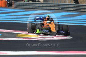World © Octane Photographic Ltd. Formula 1 – French GP. Practice 1. McLaren MCL34 – Lando Norris. Paul Ricard Circuit, La Castellet, France. Friday 21st June 2019.