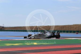 World © Octane Photographic Ltd. Formula 1 – French GP. Practice 1. Mercedes AMG Petronas Motorsport AMG F1 W10 EQ Power+ - Lewis Hamilton. Paul Ricard Circuit, La Castellet, France. Friday 21st June 2019.