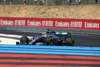 World © Octane Photographic Ltd. Formula 1 – French GP. Practice 2. Mercedes AMG Petronas Motorsport AMG F1 W10 EQ Power+ - Lewis Hamilton. Paul Ricard Circuit, La Castellet, France. Friday 21st June 2019.