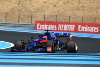 World © Octane Photographic Ltd. Formula 1 – French GP. Practice 2. Scuderia Toro Rosso STR14 – Daniil Kvyat. Paul Ricard Circuit, La Castellet, France. Friday 21st June 2019.