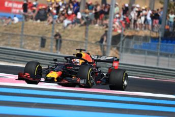 World © Octane Photographic Ltd. Formula 1 – French GP. Practice 2. Aston Martin Red Bull Racing RB15 – Max Verstappen. Paul Ricard Circuit, La Castellet, France. Friday 21st June 2019.