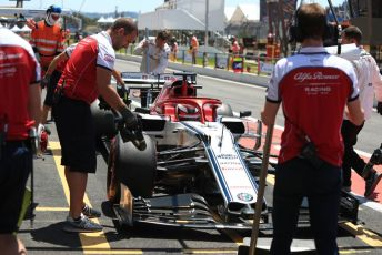 World © Octane Photographic Ltd. Formula 1 – French GP. Practice 3. Alfa Romeo Racing C38 – Kimi Raikkonen. Paul Ricard Circuit, La Castellet, France. Saturday 22nd June 2019.
