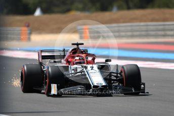World © Octane Photographic Ltd. Formula 1 – French GP. Qualifying. Alfa Romeo Racing C38 – Kimi Raikkonen. Paul Ricard Circuit, La Castellet, France. Saturday 22nd June 2019.