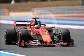 World © Octane Photographic Ltd. Formula 1 – French GP. Qualifying. Scuderia Ferrari SF90 – Sebastian Vettel. Paul Ricard Circuit, La Castellet, France. Saturday 22nd June 2019.