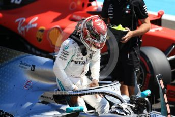 World © Octane Photographic Ltd. Formula 1 – French GP. Qualifying. Mercedes AMG Petronas Motorsport AMG F1 W10 EQ Power+ - Lewis Hamilton. Paul Ricard Circuit, La Castellet, France. Saturday 22nd June 2019.
