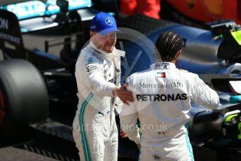 World © Octane Photographic Ltd. Formula 1 – French GP. Qualifying. Mercedes AMG Petronas Motorsport AMG F1 W10 EQ Power+ - Lewis Hamilton and Valtteri Bottas. Paul Ricard Circuit, La Castellet, France. Saturday 22nd June 2019.