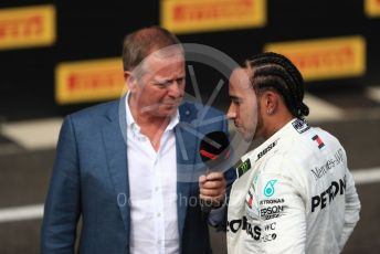World © Octane Photographic Ltd. Formula 1 – French GP. Podium. Mercedes AMG Petronas Motorsport AMG F1 W10 EQ Power+ - Lewis Hamilton. Paul Ricard Circuit, La Castellet, France. Sunday 23rd June 2019.