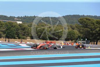 World © Octane Photographic Ltd. Formula 1 – French GP. Race. Scuderia Ferrari SF90 – Sebastian Vettel. Paul Ricard Circuit, La Castellet, France. Sunday 23rd June 2019.