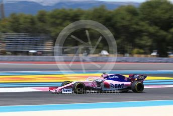 World © Octane Photographic Ltd. Formula 1 – French GP. Race. SportPesa Racing Point RP19 - Sergio Perez. Paul Ricard Circuit, La Castellet, France. Sunday 23rd June 2019.