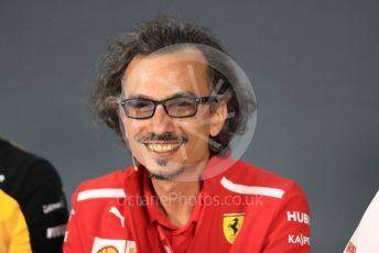 World © Octane Photographic Ltd. Formula 1 - French GP – Friday FIA Team Press Conference. Laurent Mekies – Sporting Director of Scuderia Ferrari. Paul Ricard Circuit, La Castellet, France. Friday 21st June 2019.