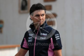 World © Octane Photographic Ltd. Formula 1 – French GP. Paddock. SportPesa Racing Point RP19 - Sergio Perez. Paul Ricard Circuit, La Castellet, France. Friday 21st June 2019.