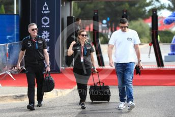 World © Octane Photographic Ltd. Formula 1 - French GP. Paddock. Claire Williams - Deputy Team Principal of ROKiT Williams Racing. Paul Ricard Circuit, La Castellet, France. Friday 21st June 2019.