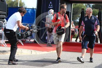 World © Octane Photographic Ltd. Formula 1 – French GP. Paddock. Scuderia Ferrari SF90 – Sebastian Vettel. Paul Ricard Circuit, La Castellet, France. Friday 21st June 2019.