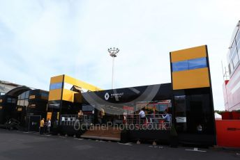 World © Octane Photographic Ltd. Formula 1 – French GP. Paddock. Renault Sport F1 Team new motorhome. Paul Ricard Circuit, La Castellet, France. Friday 21st June 2019.