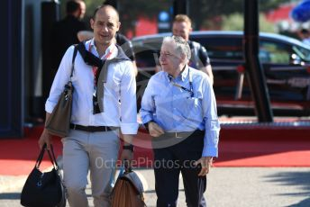 World © Octane Photographic Ltd. Formula 1 - French GP. Paddock. Jean Todt – President of FIA. Paul Ricard Circuit, La Castellet, France. Friday 21st June 2019.