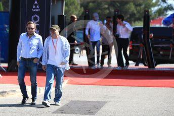 World © Octane Photographic Ltd. Formula 1 – French GP. Paddock. Jacques Villeneuve. Paul Ricard Circuit, La Castellet, France. Saturday 22nd June 2019.