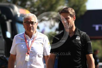 World © Octane Photographic Ltd. Formula 1 – French GP. Paddock. Rich Energy Haas F1 Team VF19 – Romain Grosjean. Paul Ricard Circuit, La Castellet, France. Saturday 22nd June 2019.