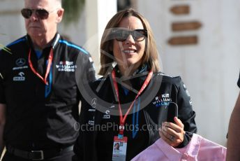 World © Octane Photographic Ltd. Formula 1 - French GP. Paddock. Claire Williams - Deputy Team Principal of ROKiT Williams Racing. Paul Ricard Circuit, La Castellet, France. Sunday 23rd June 2019.