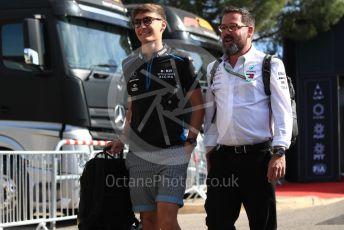 World © Octane Photographic Ltd. Formula 1 – French GP. Paddock. ROKiT Williams Racing FW 42 – George Russell. Paul Ricard Circuit, La Castellet, France. Sunday 23rd June 2019.