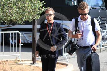 World © Octane Photographic Ltd. Formula 1 - French GP. Paddock. Nico Rosberg. Paul Ricard Circuit, La Castellet, France. Sunday 23rd June 2019.