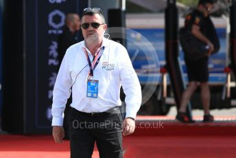 World © Octane Photographic Ltd. Formula 1 - French GP. Paddock. Eric Boullier. Paul Ricard Circuit, La Castellet, France. Sunday 23rd June 2019.