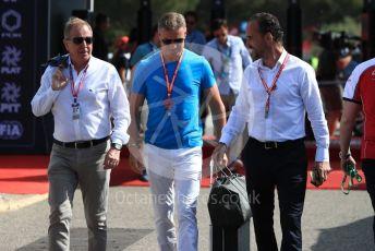 World © Octane Photographic Ltd. Formula 1 - French GP. Paddock. David Coulthard. Paul Ricard Circuit, La Castellet, France. Sunday 23rd June 2019.