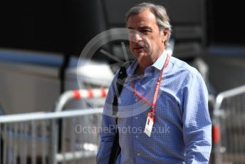 World © Octane Photographic Ltd. Formula 1 - French GP. Paddock. Carlos Sainz Senior. Paul Ricard Circuit, La Castellet, France. Sunday 23rd June 2019.