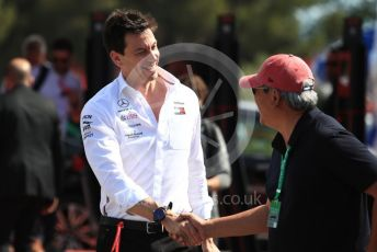 World © Octane Photographic Ltd. Formula 1 - French GP. Paddock. Toto Wolff - Executive Director & Head of Mercedes - Benz Motorsport. Paul Ricard Circuit, La Castellet, France. Sunday 23rd June 2019.