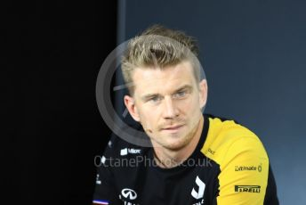 World © Octane Photographic Ltd. Formula 1 – French GP. FIA Drivers Press Conference. Renault Sport F1 Team – Nico Hulkenberg Paul Ricard Circuit, La Castellet, France. Thursday 20th June 2019.