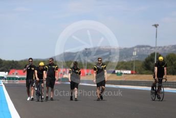World © Octane Photographic Ltd. Formula 1 – French GP. Track Walk. UV Team. Paul Ricard Circuit, La Castellet, France. Thursday 20th June 2019.