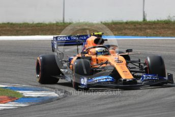World © Octane Photographic Ltd. Formula 1 – German GP - Qualifying. McLaren MCL34 – Lando Norris. Hockenheimring, Hockenheim, Germany. Saturday 27th July 2019.