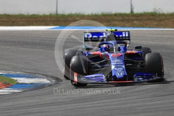World © Octane Photographic Ltd. Formula 1 – German GP - Qualifying. Scuderia Toro Rosso STR14 – Alexander Albon. Hockenheimring, Hockenheim, Germany. Saturday 27th July 2019.