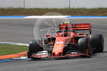 World © Octane Photographic Ltd. Formula 1 – German GP - Qualifying. Scuderia Ferrari SF90 – Charles Leclerc. Hockenheimring, Hockenheim, Germany. Saturday 27th July 2019.