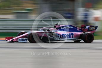 World © Octane Photographic Ltd. Formula 1 – German GP - Qualifying. SportPesa Racing Point RP19 - Sergio Perez. Hockenheimring, Hockenheim, Germany. Saturday 27th July 2019.