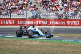 World © Octane Photographic Ltd. Formula 1 – German GP - Qualifying. ROKiT Williams Racing FW42 – Robert Kubica. Hockenheimring, Hockenheim, Germany. Saturday 27th July 2019.